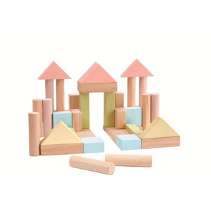 Pastel Building Blocks Wooden Toy Modern Nursery Raines Nursery