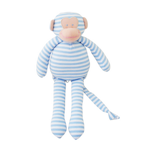 Alimrose Musical Monkey Soft Toy Rag Doll Raines Nursery Gift Baby Shower