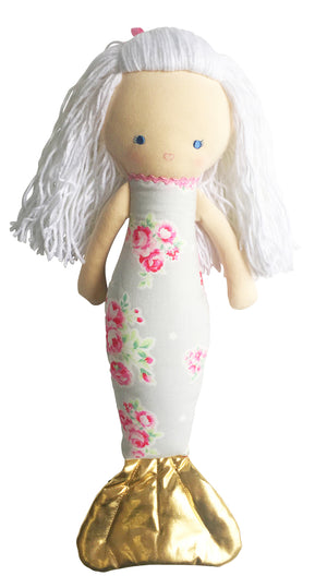 Alimrose Mermaid Doll Grey Raines Nursery
