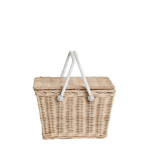 Olli Ella Piki Basket Straw New Colour Raines Nursery