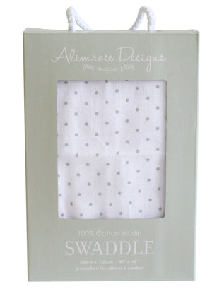 Alimrose Baby Muslin Swaddle Baby Shower Raines Nursery