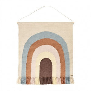 Oyoy Follow the rainbow wall rug Raines Nursery