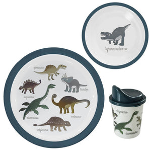 Sebra Dinosaur Meal Time Set Plate Set Kids Food Raines Nursery