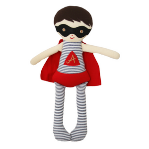 Alimrose Super Hero Doll Rag Doll Soft Toy Gift Raines Nursery