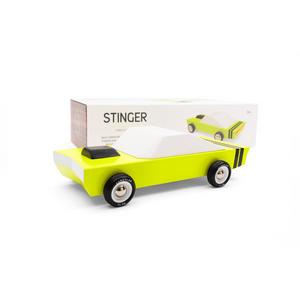 CandyLab Stinger Wooden Car Toy Raines Nursery