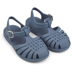 Liewood Sindy Sandals Blue Wave Jelly Shoe Raines Nursery