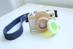 Kiko & GG* Camera Wooden Toy Photographer Gift Idea Raines Nursery