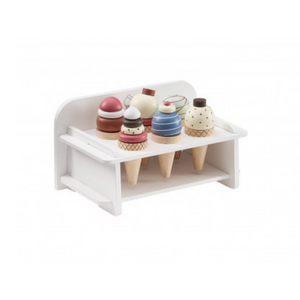 Kids Concept Ice Cream Stacker Set Wooden Toy Modern Nursery Raines Nursery