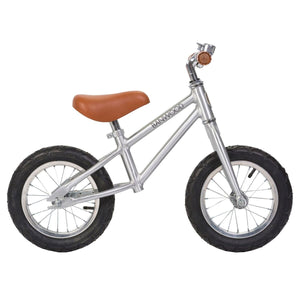 Banwood Balance Bike Chrome First Go Raines Nursery