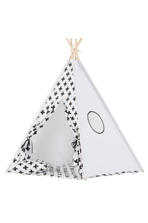 Wigiwama Cross Pattern Teepee Raines Nursery