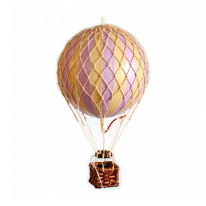 Authentic Models Hot Air Balloon In Lavendar Floating The Skies Raines Nursery