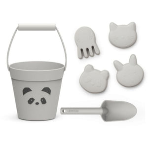 Liewood Dante Beach Set Panda Dumbo Grey Raines Nursery