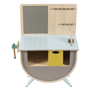 Sebra Tool Bench in Warm Grey