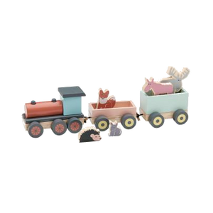 Kids Concept Wooden Train Toy Modern Nursery Raines Nursery