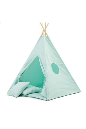 Wigiwama Mint Teepee Play Tent Set Raines Nursery