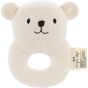 Konges Slojd - Quro Mini Bear Rattle