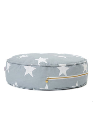 Wigiwama Grey Star Ottoman Raines Nursery