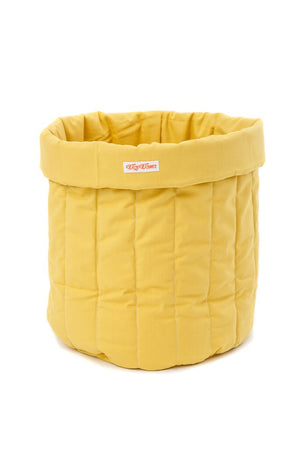 Wigiwama Mustard Toy Storage Bag Raines Nursery