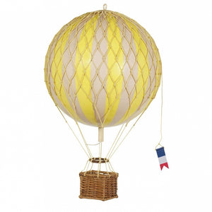 Small Hot Air Balloon - True Yellow