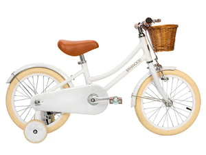 Banwood Classic White Bike by Raines Nursery