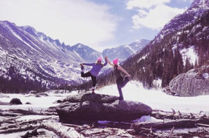 Inspired By... Yoga in the Rocky Mountains