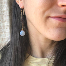 Load image into Gallery viewer, Opal Droplet Earrings