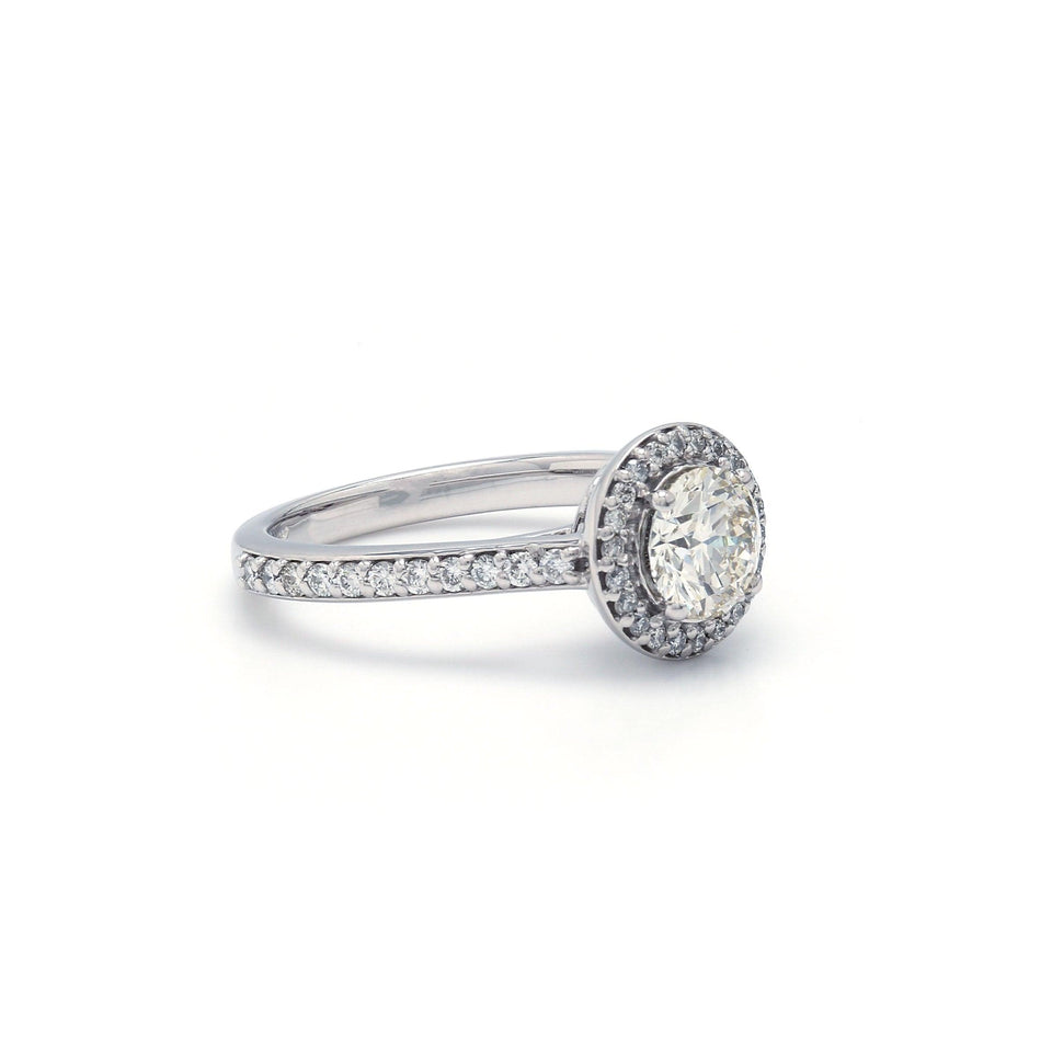 0.45 Ct. T.W. Lab-Grown Diamond 14K White Gold