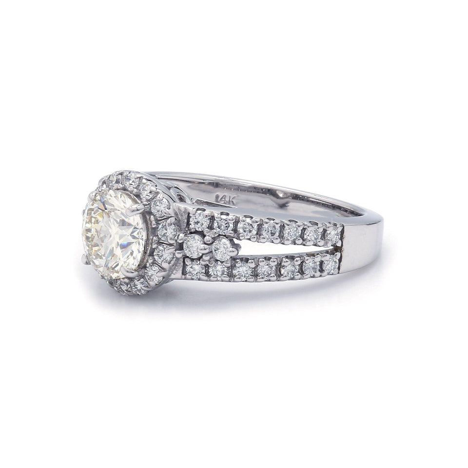 3/4 Ct. T.W. Lab Grown Diamond 14K White Gold