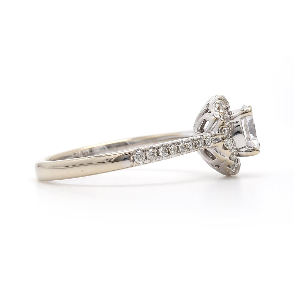 1/3 Ct. T.W. Lab-Grown Diamond 14K White Gold