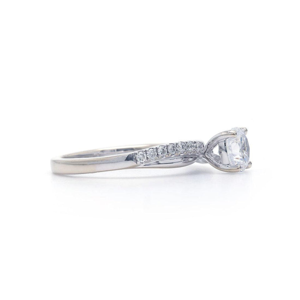 1/5 Ct. T.W. Lab Grown Diamond 14K White Gold