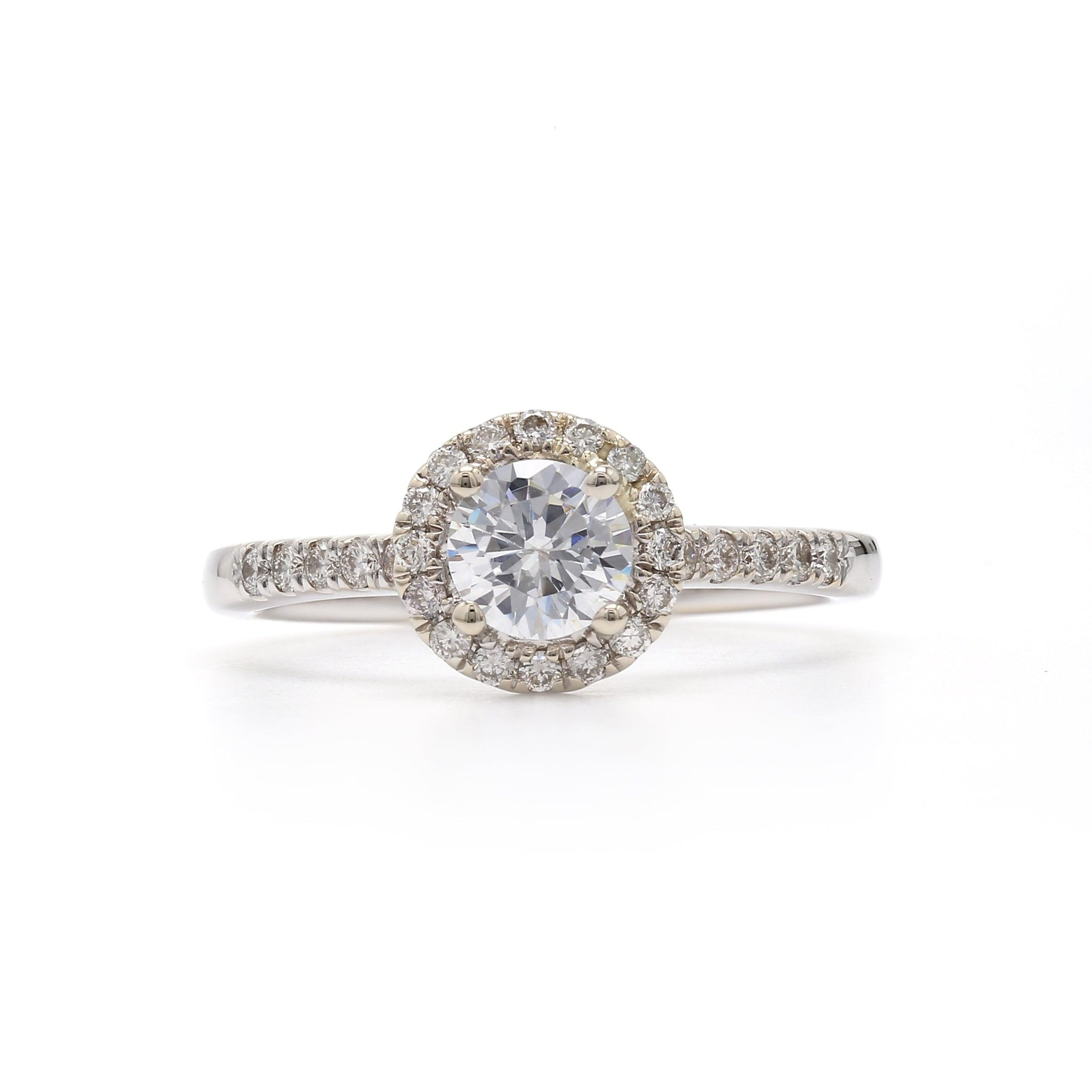 Lab-Grown Diamond Engagement Ring Setting