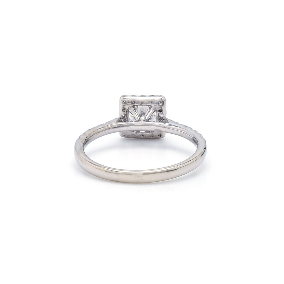 3/8 Ct. T.W. Lab Grown Diamond 14K White Gold