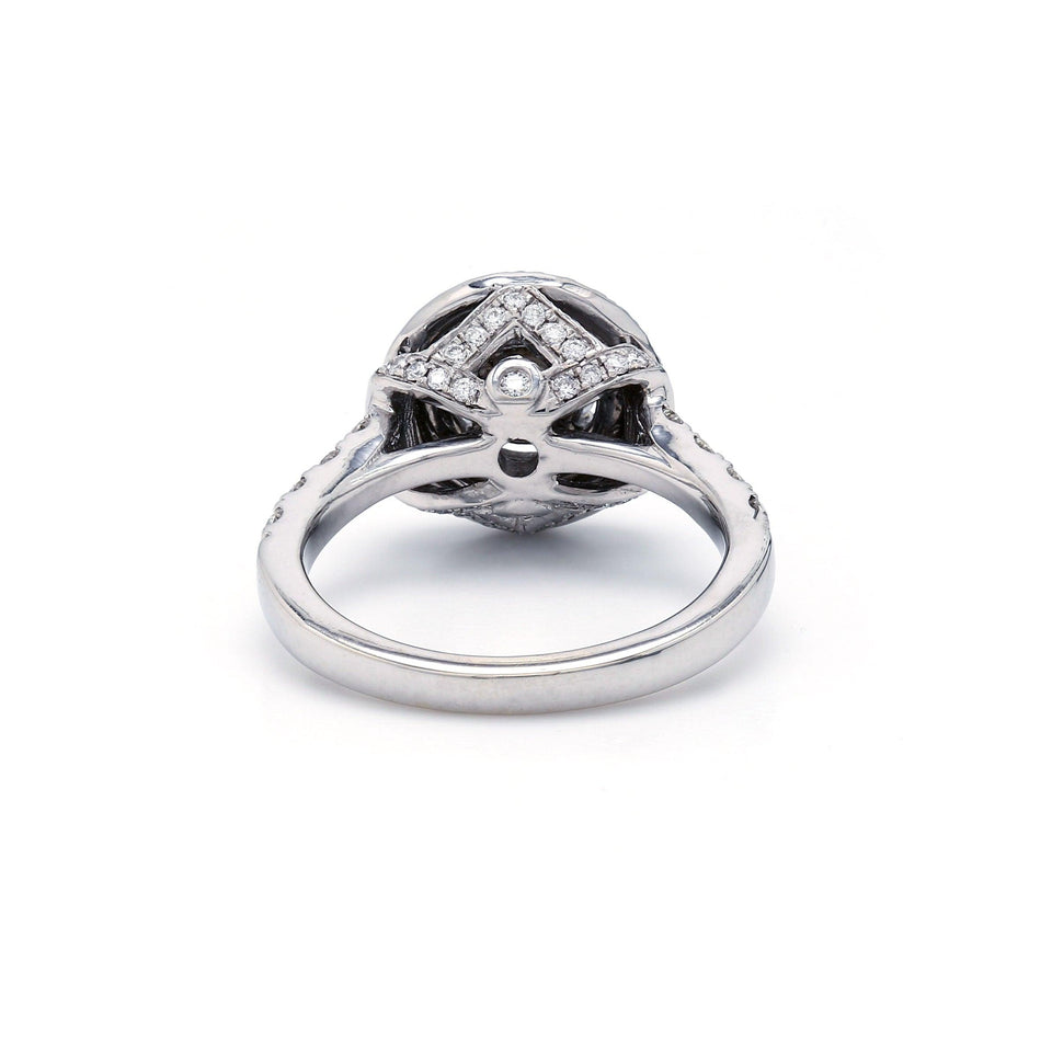 1.00 Ct. T.W. Lab-Grown Diamond 14K White Gold