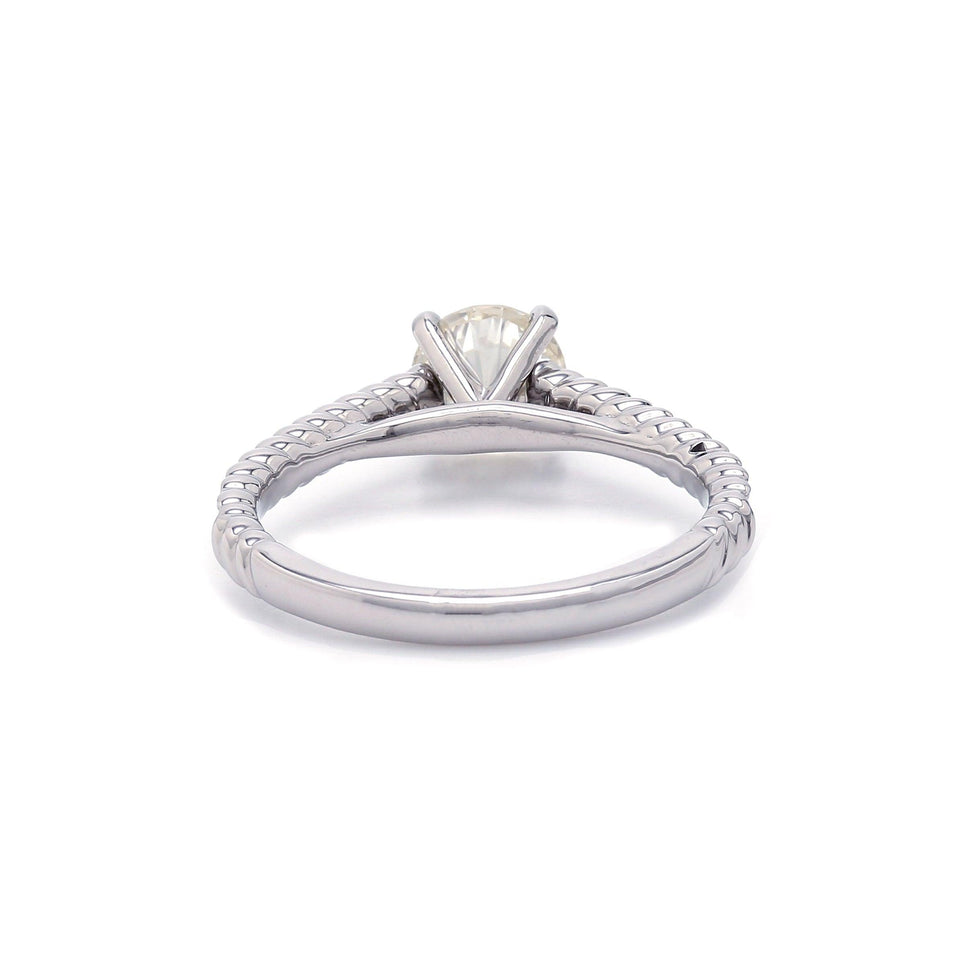 1.26CTTW Lab-Grown IGL Certified Diamond 14K White Gold Ring