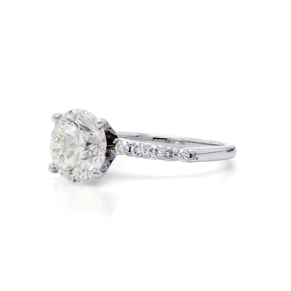 3.45 Ct. T.W. Lab-Grown IGL Certified Diamond 14K White Gold Ring