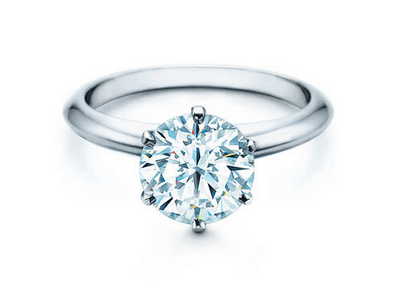 2.51 Ct. T.W. E VS2 Lab Grown Diamond Solitaire Platinum