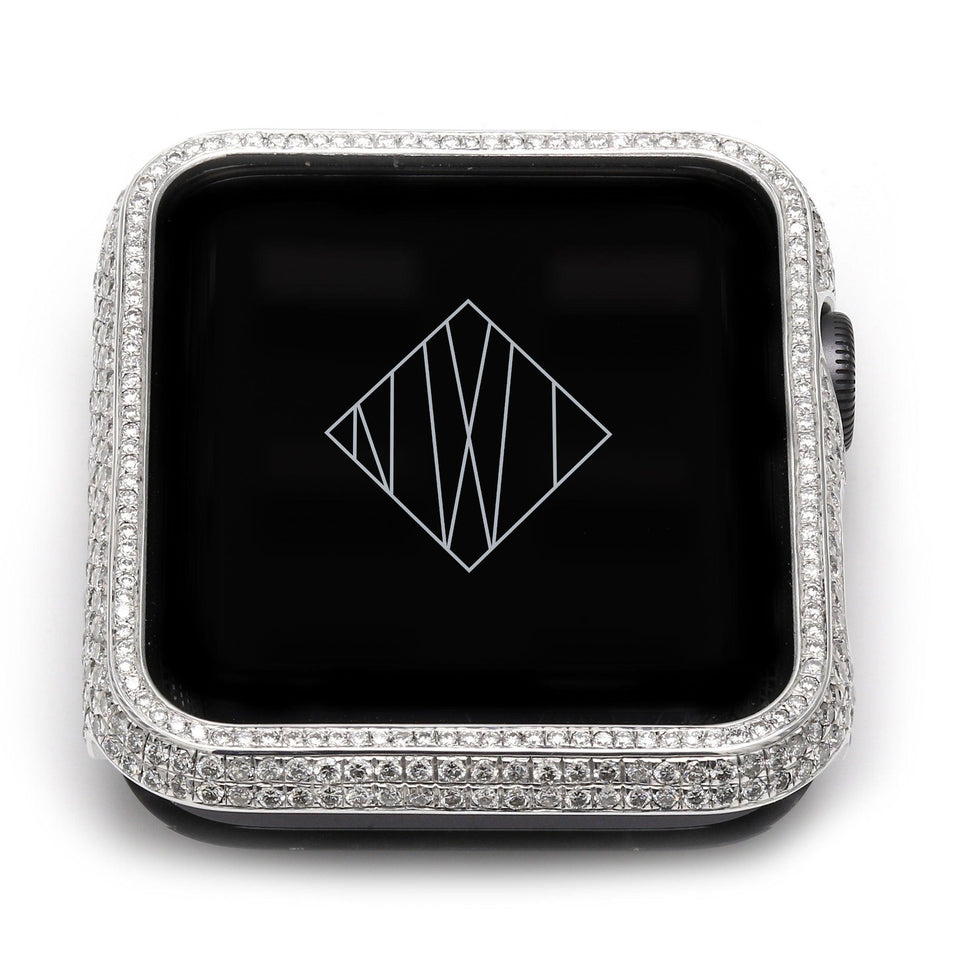 3.15 Ct. T.W. Lab-Grown Diamond Smart Watch Cover