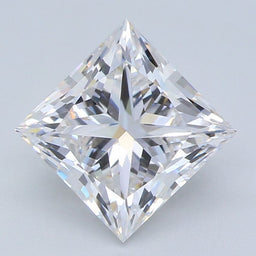 1.52 Carat Princess G VVS1 IGI Certified Lab Grown Diamond