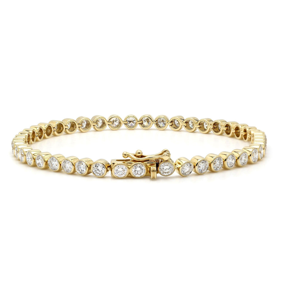 5.00 Ct. T.W. lab Diamond Bracelet