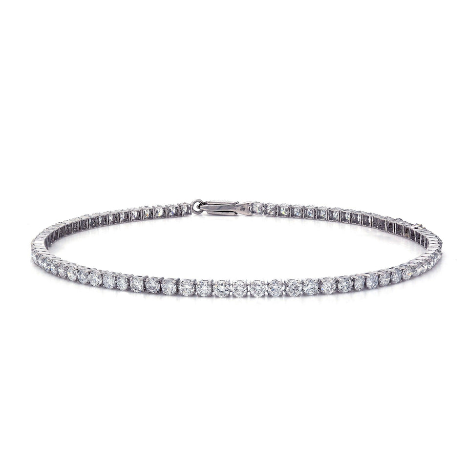 3.00 Ct. T.W. White Lab-Grown Diamond 14K White Gold Bracelet