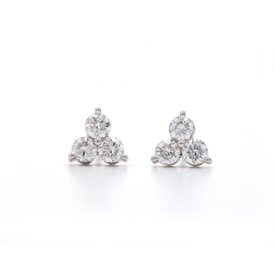 1/2 CT Diamond Gold Earrings | Lab-Grown