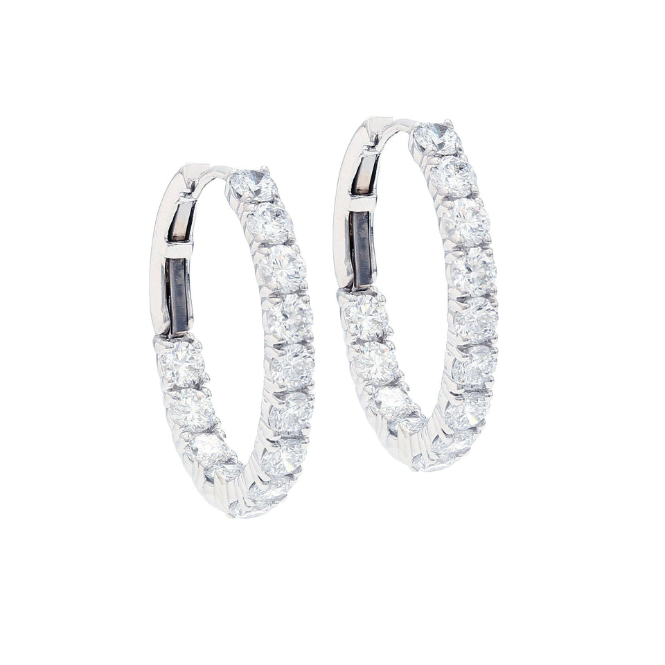 3.00 Ct. T.W. Lab-Grown Diamond Earrings 14K Gold