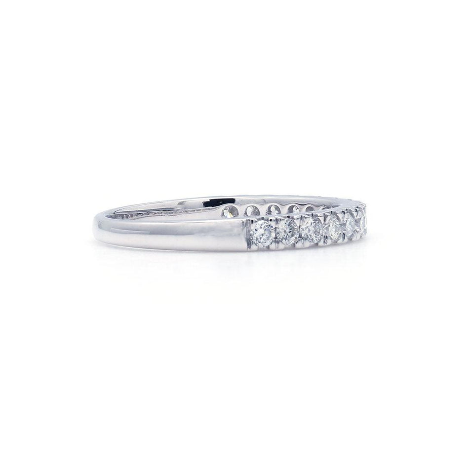 1/2 Ct. T.W. Lab-Grown Diamond 14K Gold Band