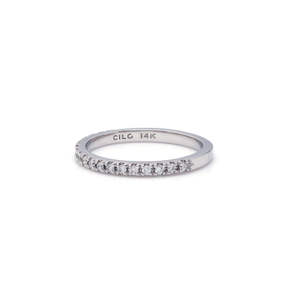 1/5 Ct. T.W. Lab-Grown White Diamond 14K Gold Wedding Band