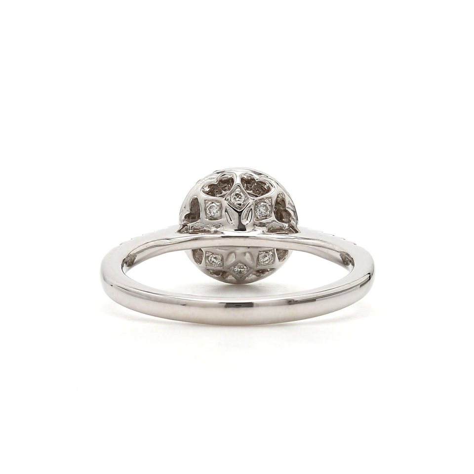 1/4 Ct. T.W. Lab-Grown Diamond 14K White Gold (Setting Only)