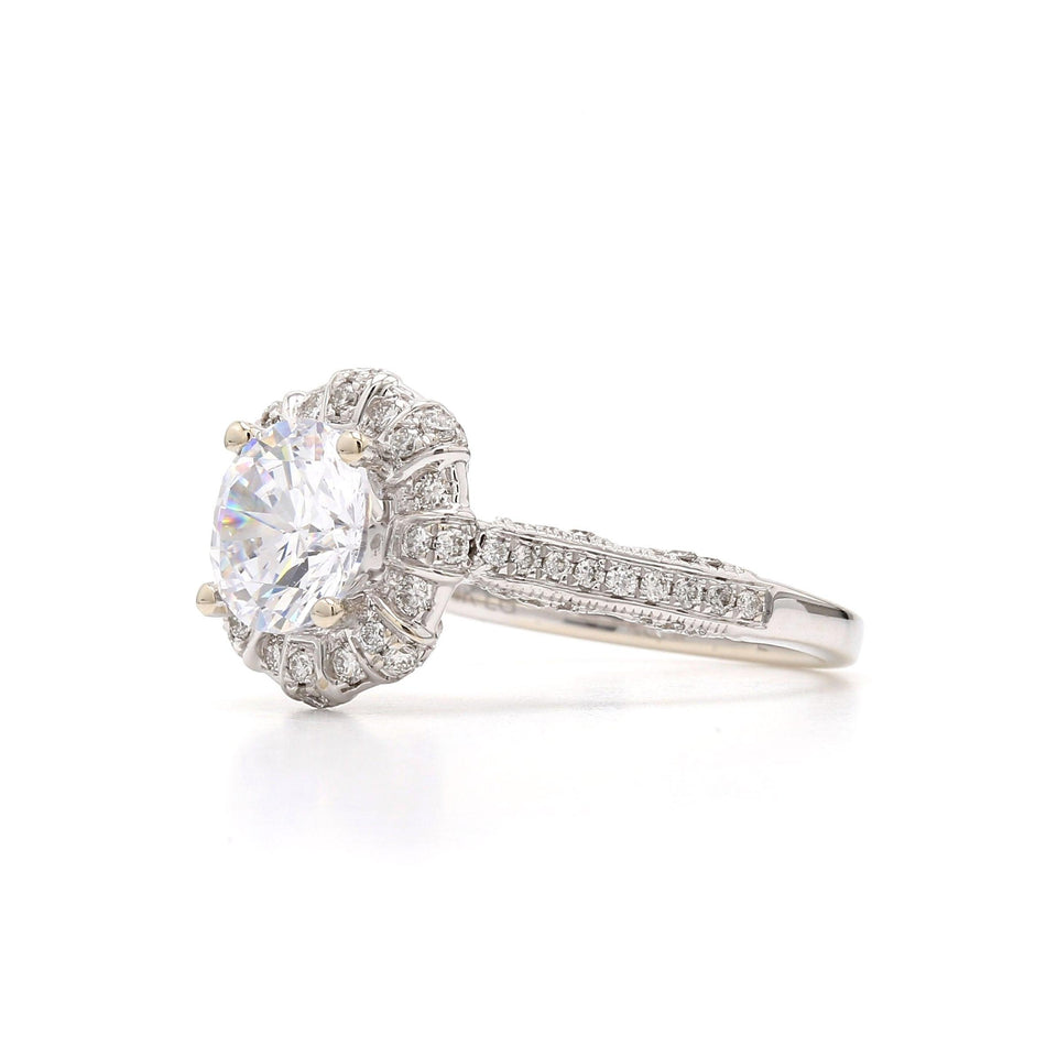 1/2 Ct. T.W. Lab-Grown Diamond 14K Gold left view