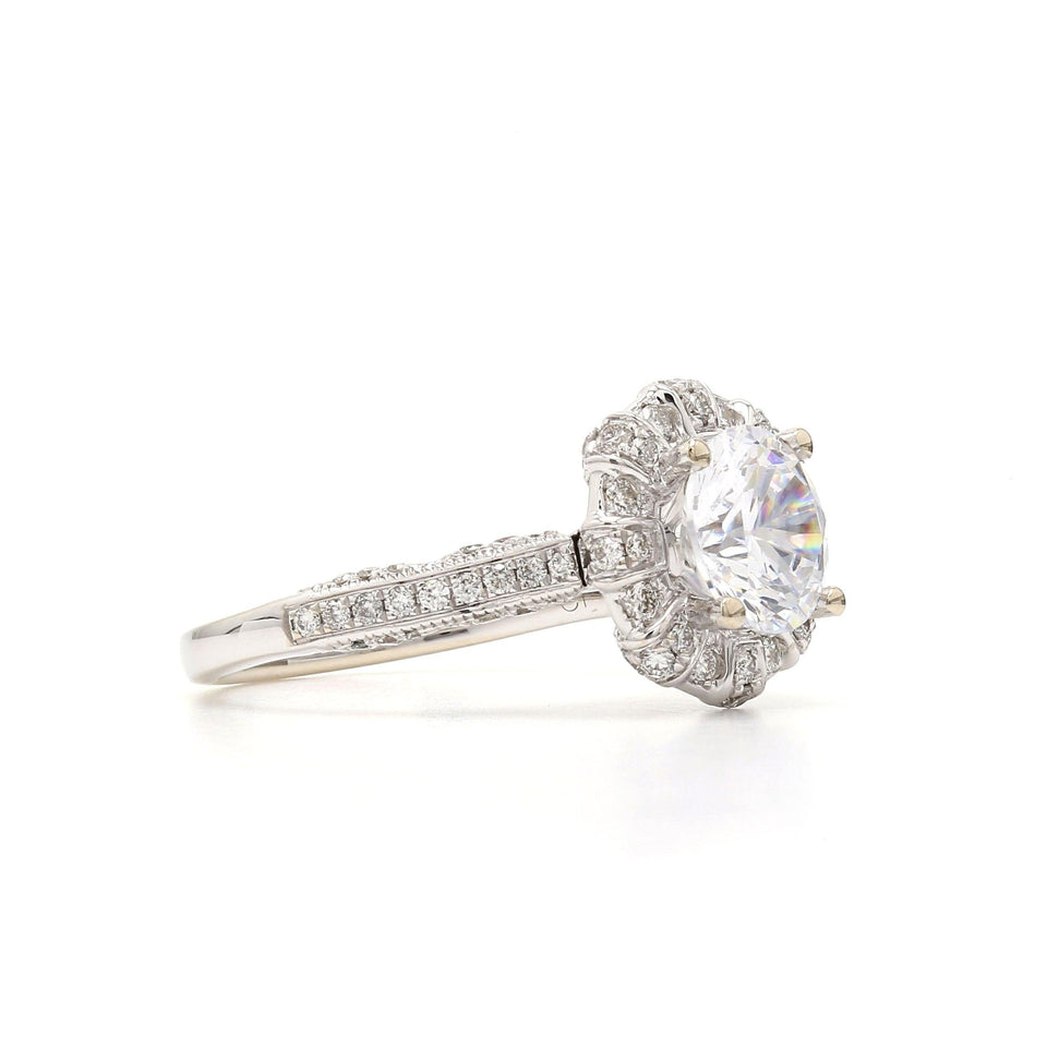 1/2 Ct. T.W. Lab-Grown Diamond 14K Gold right view