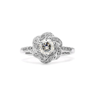 1/3 Ct. T.W. Lab-Grown Diamond 14K White Gold (Setting Only)