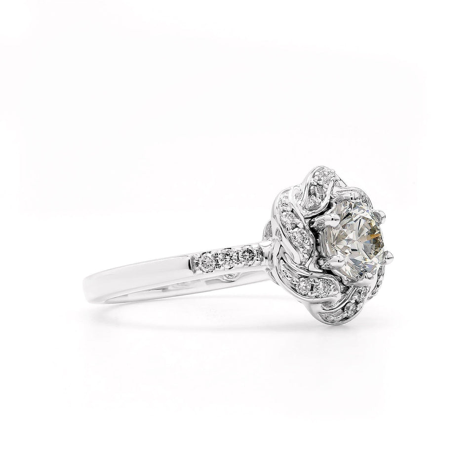 1/3 Ct. T.W. Lab-Grown Diamond 14K Gold