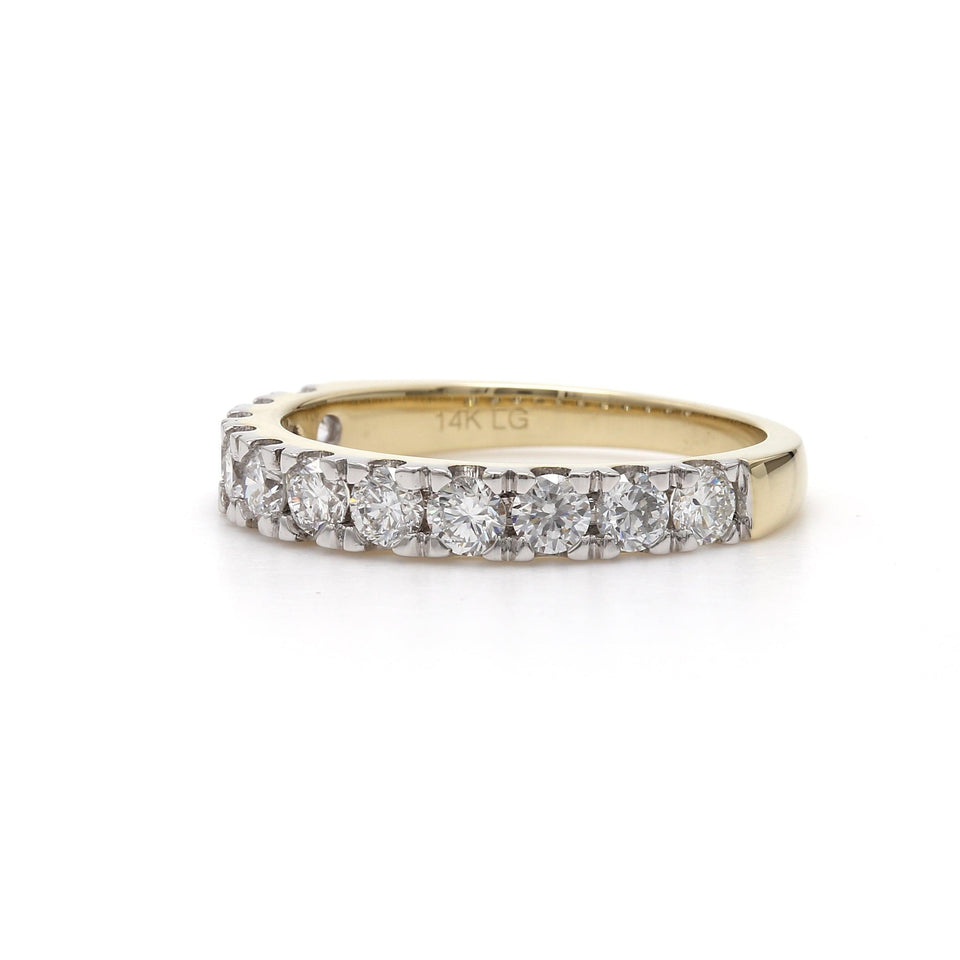 1.00 Ct. T.W. Lab-Grown White Diamond 14K Gold Band